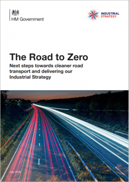 brochure road to zero, governmental industrial strategy